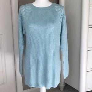 Women's Sweater & Long Sleeve Cotton Tee!